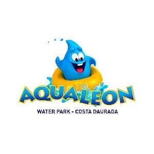 logo de Aqualeon Water Park