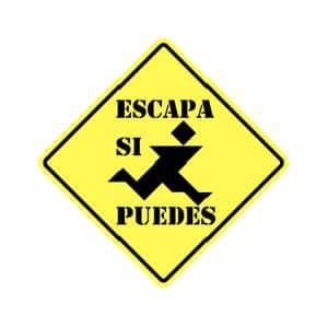 logo de Escapa si puedes