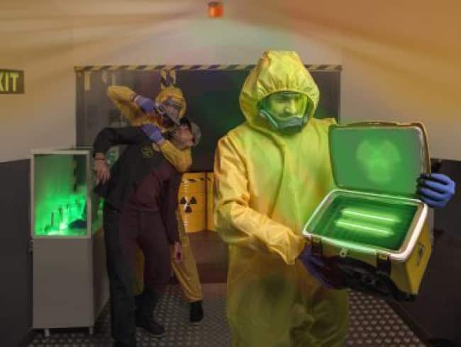 escape room: Amenaza nuclear