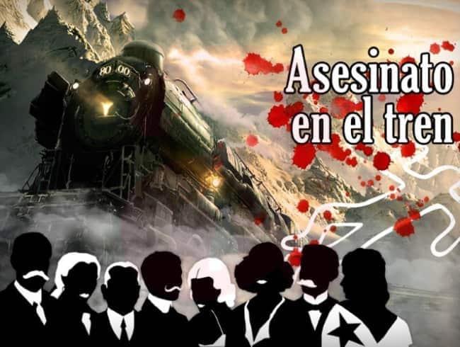 escape room: Asesinato en el tren
