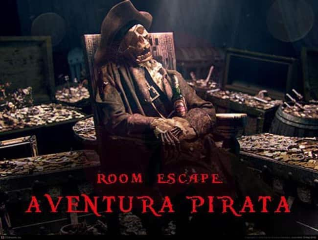 escape room: Aventura pirata - Les Fonts