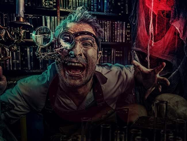 escape room: Científico loco