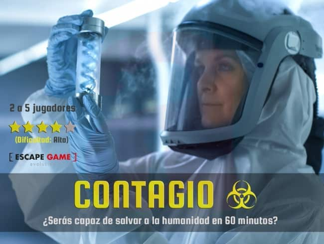 escape room: Contagio