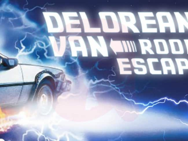 escape room: Delorean Van