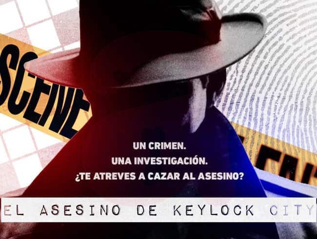 escape room: El asesino de Keylock City - Santander