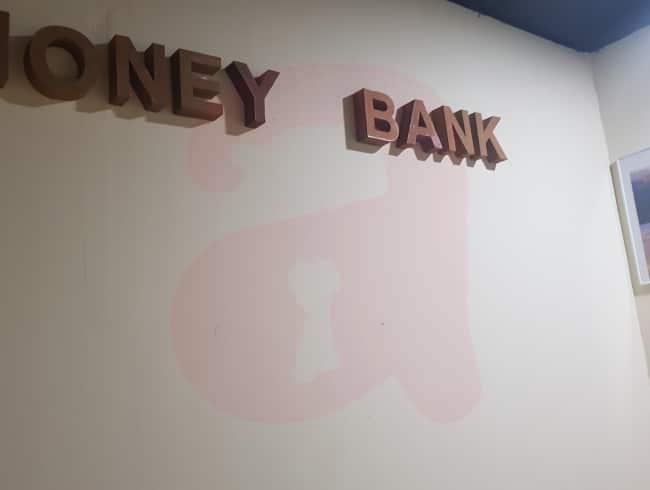 escape room: El banco