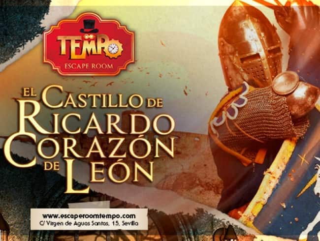 escape room: El castillo de Ricardo Corazón de León