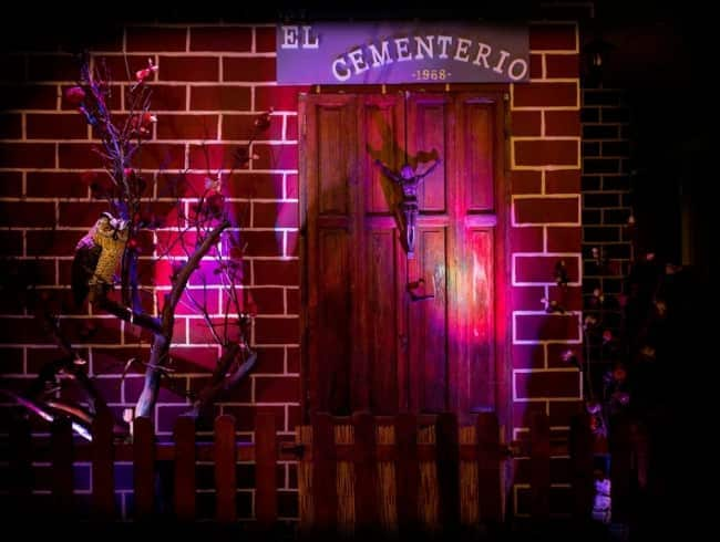 escape room: El cementerio