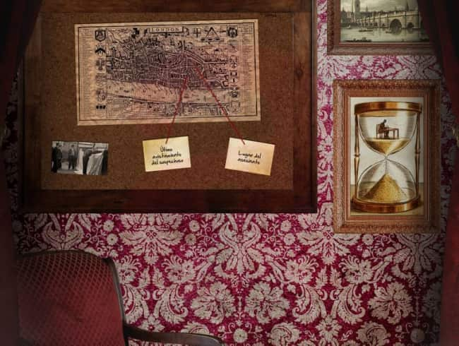 escape room: El estudio de Sherlock Holmes
