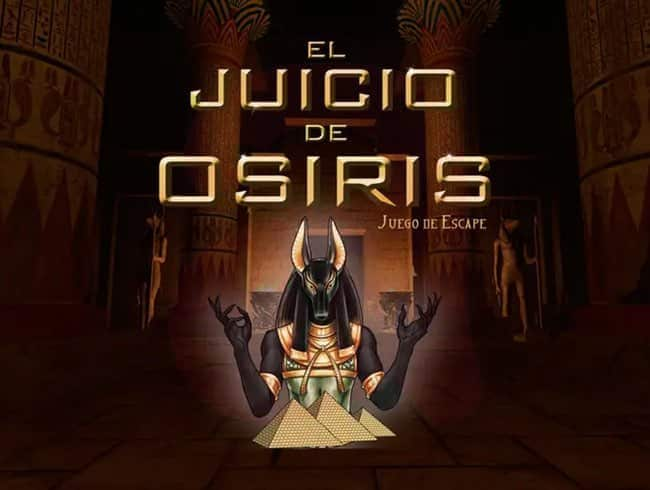 escape room: El juicio de Osiris