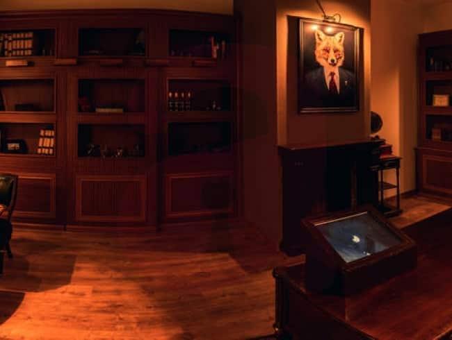 escape room: El Legado de Mr.Fox