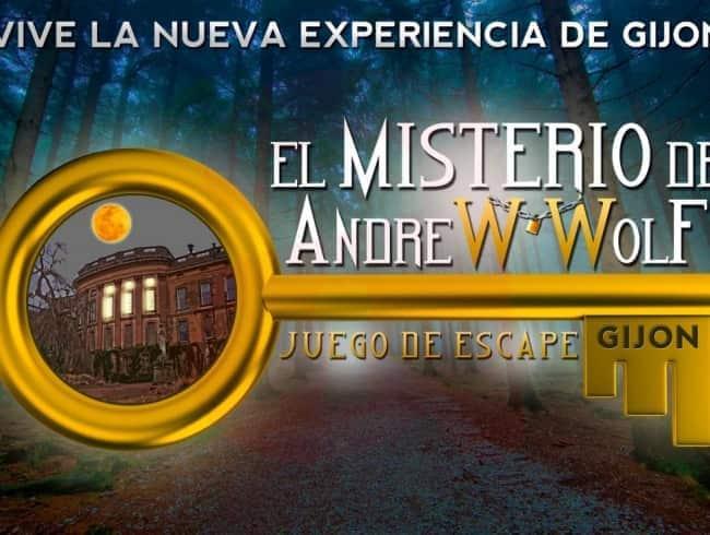 escape room: El misterio de Andrew Wolf