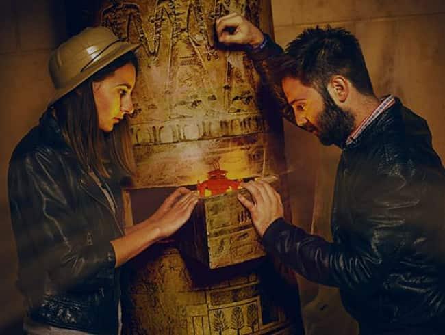 escape room: El misterio de Nefertiti