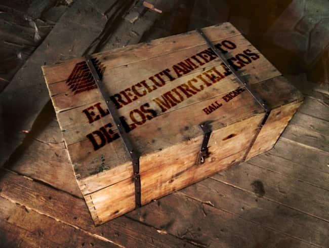 escape room: El reclutamiento de los murciélagos