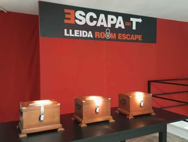 escape room: El reto de las 3 cajas - Lleida