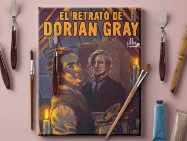 escape room: El retrato de Dorian Gray