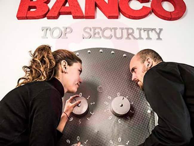 escape room: El robo al banco
