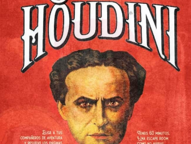 escape room: El secreto de Houdini