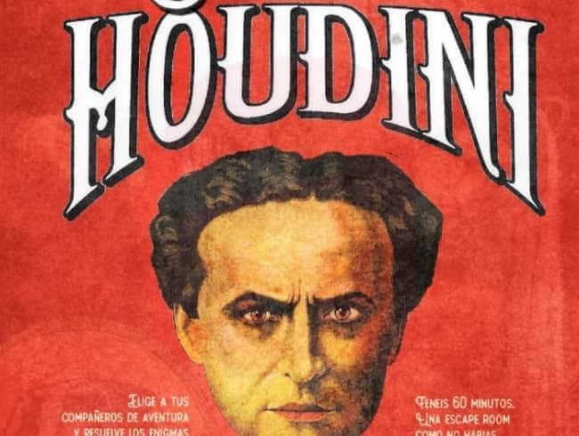 escape room: El secreto de Houdini