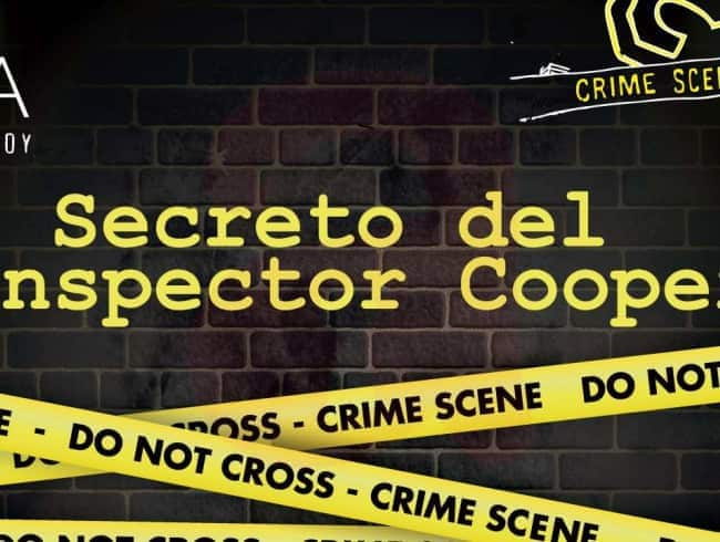 escape room: El secreto del inspector Cooper