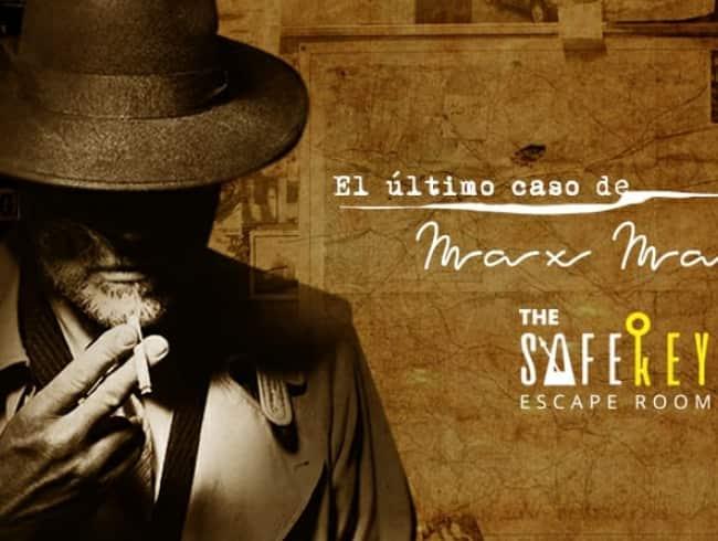 escape room: El Último caso de Max Malone