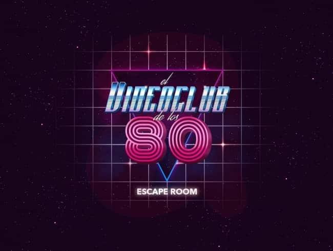 escape room: El videoclub de los 80