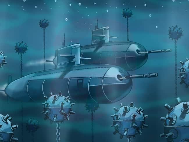 escape room: Submarino