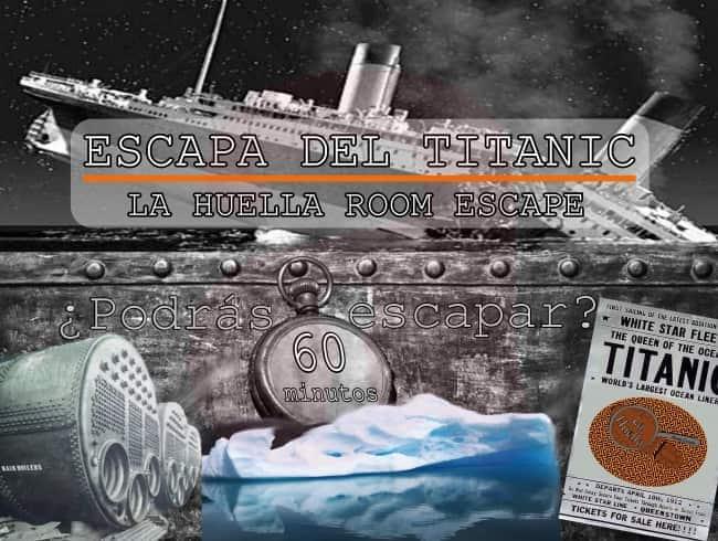 escape room: Escapa del Titanic
