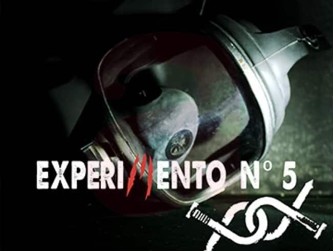 escape room: Experimento nº5 - Madrid