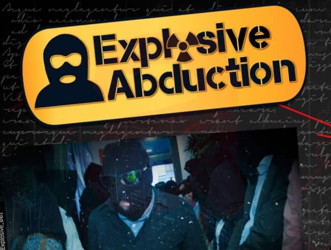 escape room: Explosive abduction - Madrid