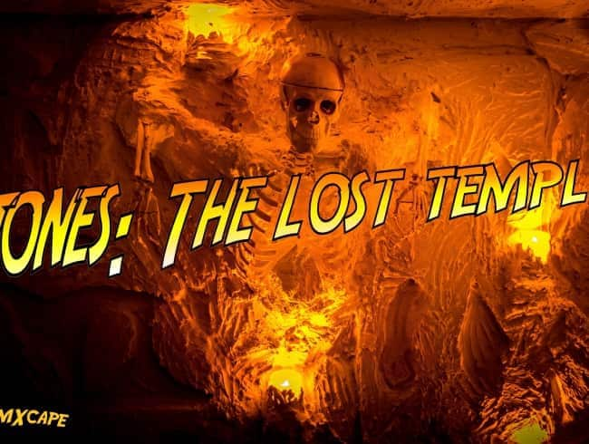 escape room: Jones: the lost temple