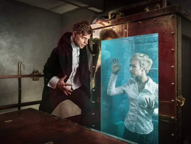 escape room: La academia de Houdini