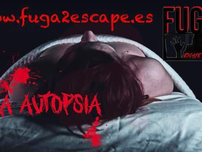 escape room: La autopsia