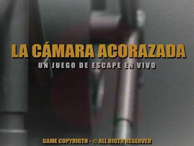 escape room: La Cámara Acorazada