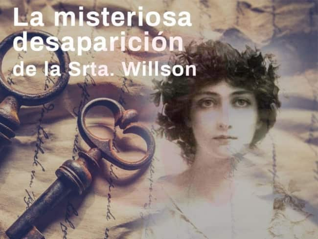 escape room: La desaparición de la Srta.Willson