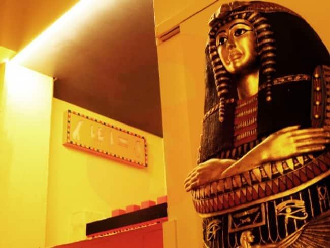 escape room: La Egipcia
