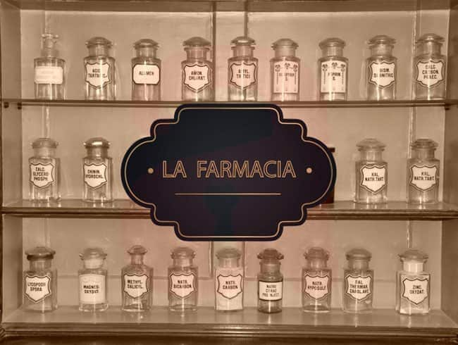 escape room: La farmacia