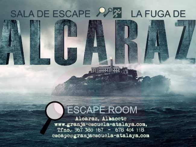 escape room: La fuga de Alcaraz