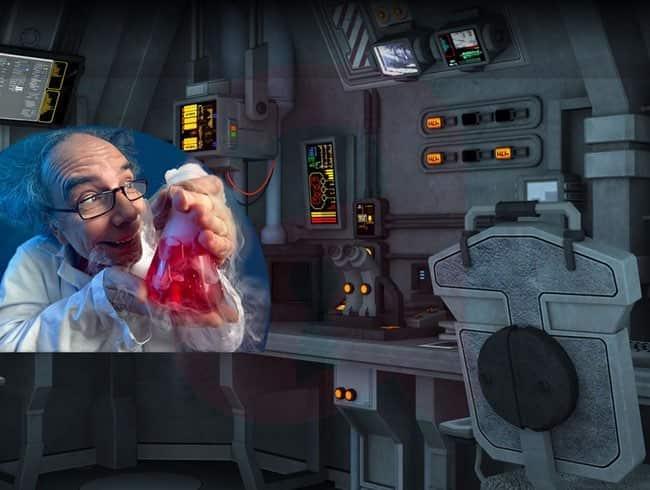 escape room: La nave del científico loco
