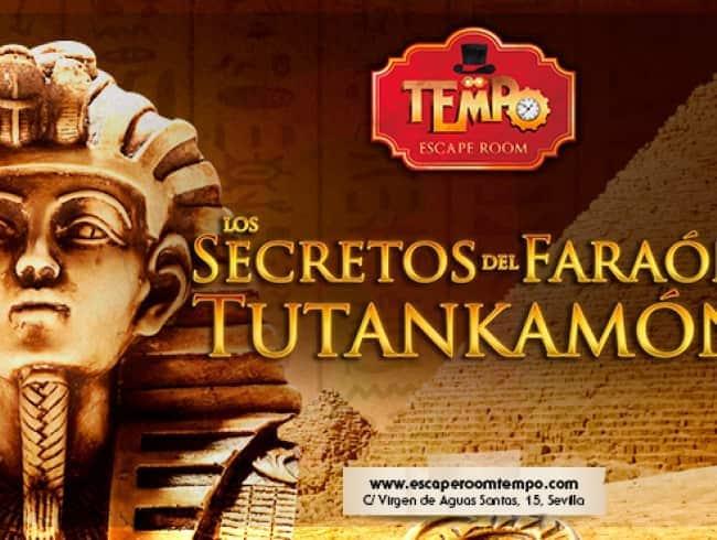 escape room: Los secretos del faraón Tutankamón
