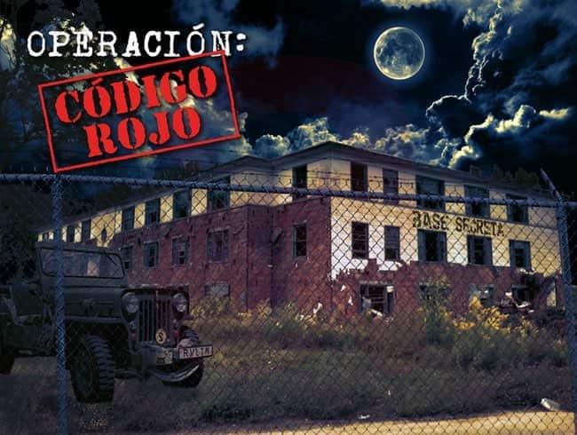 escape room: Operación: Código rojo