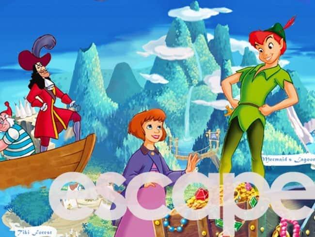escape room: Peter Pan