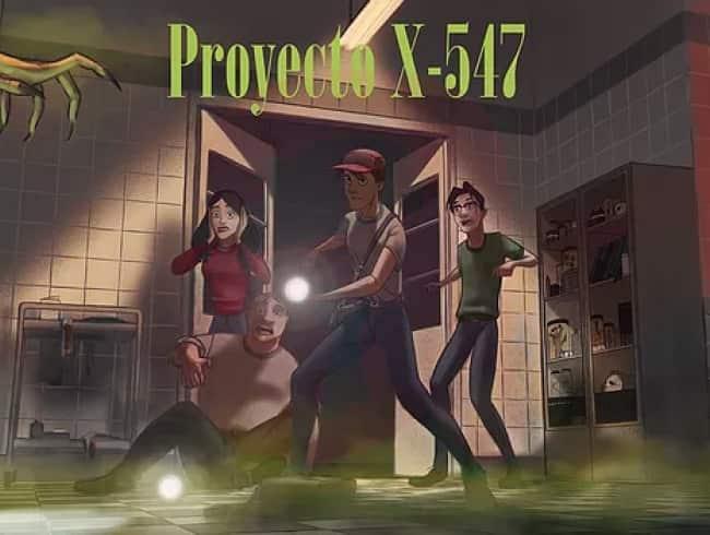 escape room: Proyecto X-547