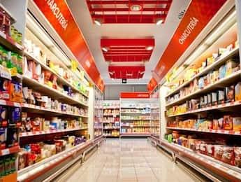 Supermercado durante el confinamiento